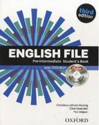 učebnice němčiny English File 3rd edition pre-intermediate