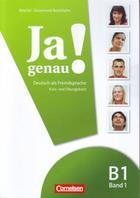 učebnice němčiny Ja genau B1 Band 1