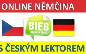 Online němčina s českým lektorem (O4), Jazyková škola BIEB, Brno-Žabovřesky
