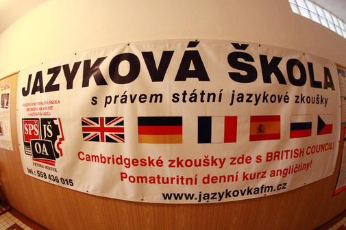 SPŠ, OA a Jazyková škola s právem SJZ - Jazyková škola - Frýdek-Místek - ilustrační foto