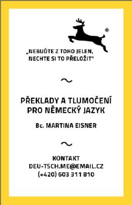 Bc. Martina Eisner - Překladatelka a tlumočnice - Ústí nad Labem-Střekov - ilustrační foto