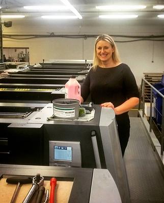 Tlumočení školení tiskařů v tiskárně