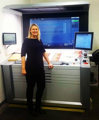 Tlumočení školení v tiskárně u stroje Heidelberg Speedmaster