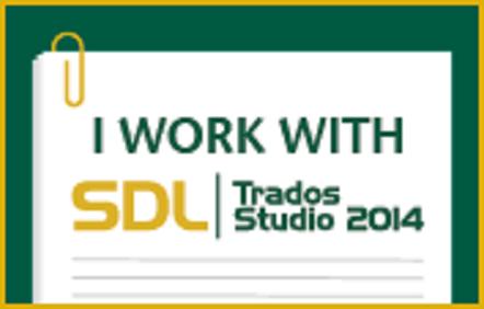 SDL Trados Studio 2014