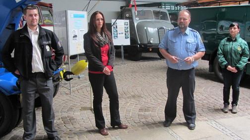 Tlumočení při prohlídce v muzeu historických vozidel - Hartmannsdorf, Německo