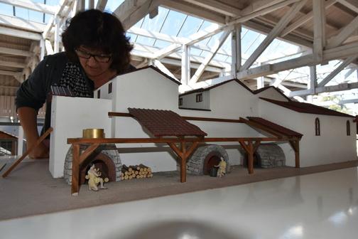 Tlumočení v muzeu římského osídlení Osterburken