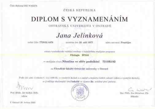 Univerzitní diplom