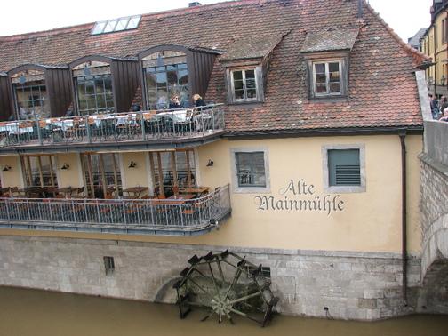 Würzburg - Mainmühle (tlumočení ve firmě Brose)